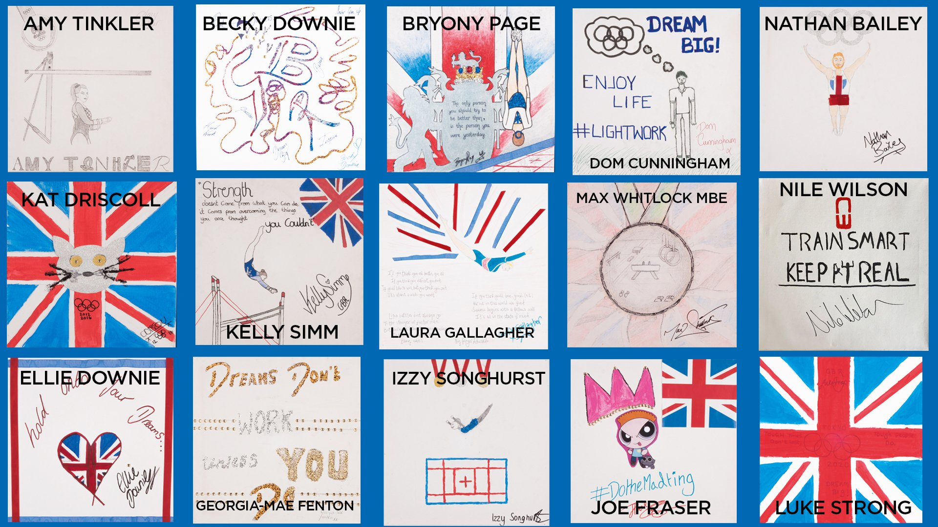 Art auction!   British Gymnastics Foundation